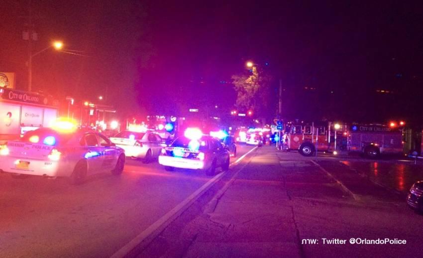 เกิดเหตุกราดยิง-จับตัวประกันที่ไนท์คลับในเมืองออร์แลนโด สหรัฐฯ