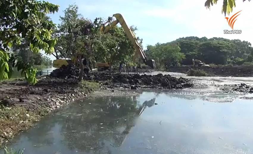 เทศบาลนครนครศรีฯ เร่งแก้ปัญหาน้ำเสียในสวนสมเด็จพระศรีนครินทร์
