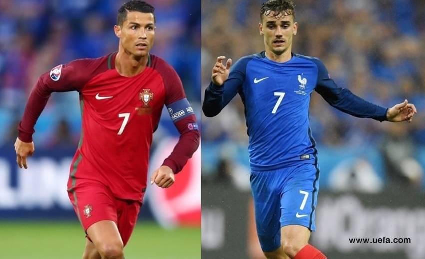 โปรตุเกสยอมรับฝรั่งเศสได้เปรียบนัดชิงแชมป์ยูโร 2016 คืนนี้