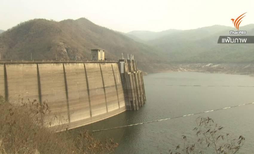 น้ำใน 4 เขื่อนลุ่มน้ำเจ้าพระยาน้ำน้อยแม้มีฝนตก วิกฤตกว่าปี 58