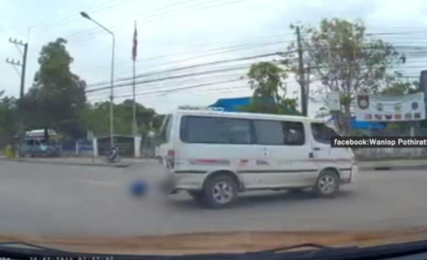 หัวหน้าขนส่ง จ.ตาก เตรียมประสานตำรวจดำเนินคดีคนขับที่ทำนักเรียนตกรถตู้