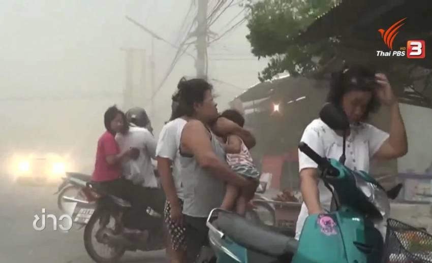 พายุฤดูร้อนพัดถล่ม พิษณุโลก-เชียงราย-อุบลราชธานี บ้านเรือนประชาชนเสียหายหนัก