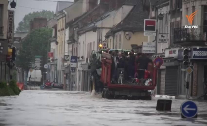 น้ำท่วมฝรั่งเศสยังวิกฤต เร่งอพยพ ปชช.ออกจากพื้นที่เสี่ยง
