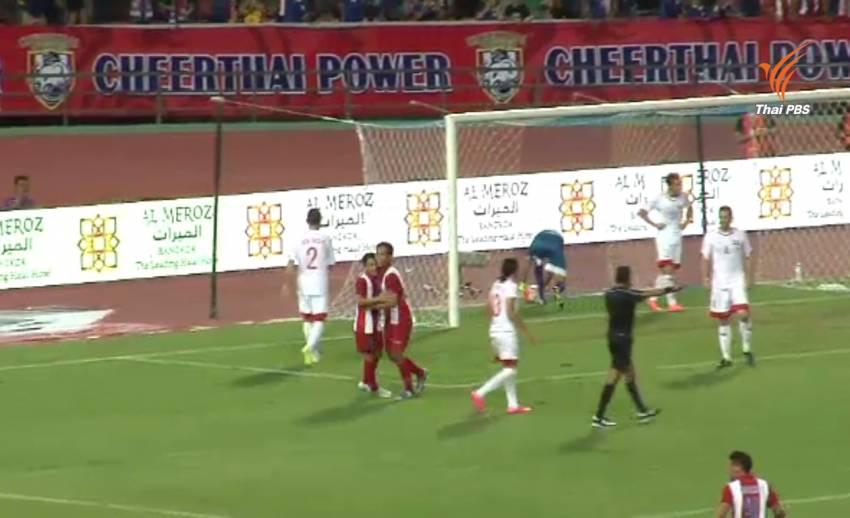 ทีมชาติไทยเตรียมรับมือลูกกลางอากาศ เกมนัดชิงคิงส์คัพกับจอร์แดน เย็นนี้