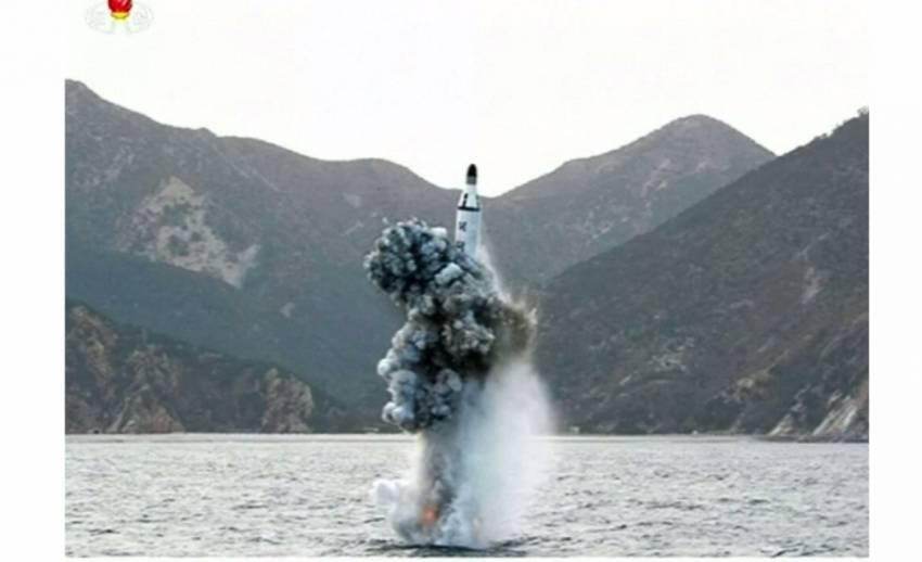 """เกาหลีเหนืออ้างประสบความสำเร็จ """"ยิงขีปนาวุธจากเรือดำน้ำ"""""""