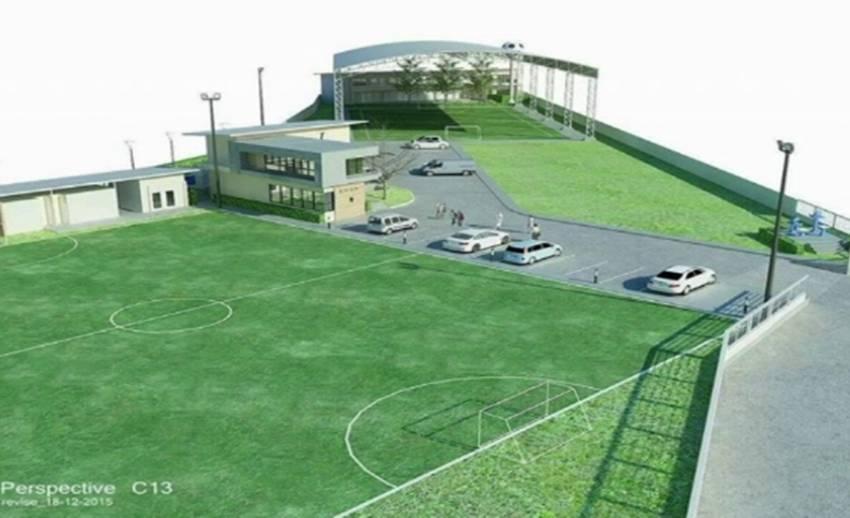 """""""เมสซี่เจ"""" ทุ่มเงินกว่า 10 ล้านสร้างศูนย์ฝึกฟุตบอลใน จ.นครปฐม"""