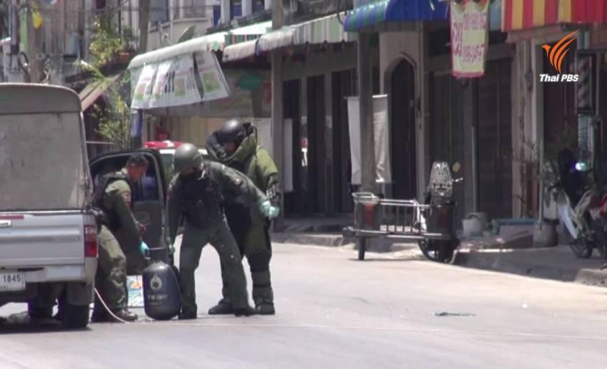 ลอบวางระเบิดกลางเมืองยะลา -พลเมืองดีแจ้งเบาะแส จนท.เก็บกู้ได้ทัน