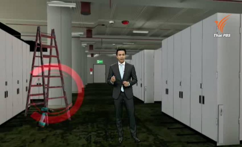 เกิดอะไรขึ้นที่ชั้นใต้ดินอาคารเอสซีบีปาร์ค เมื่อระบบดับเพลิงทำงานผิดพลาด