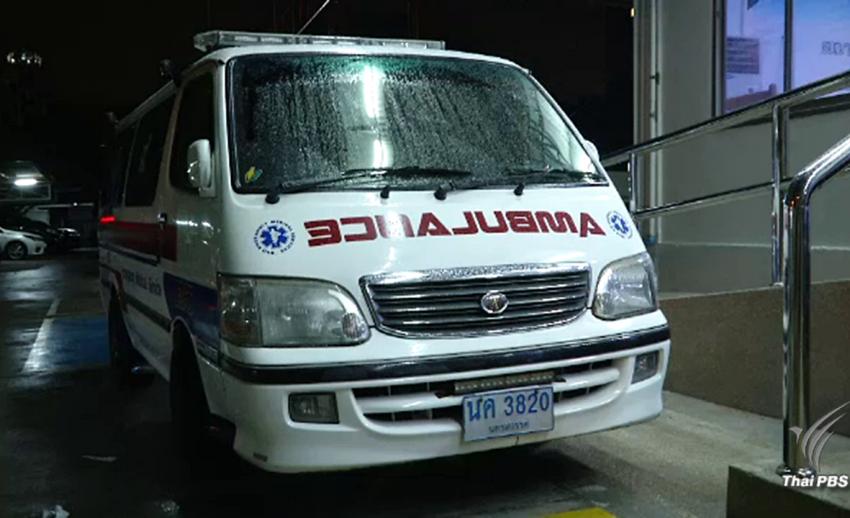 ตร.จับหนุ่มวัย 26 แต่งรถตู้เป็นรถกู้ภัยใช้ขนยาบ้า 1.2 แสนเม็ด