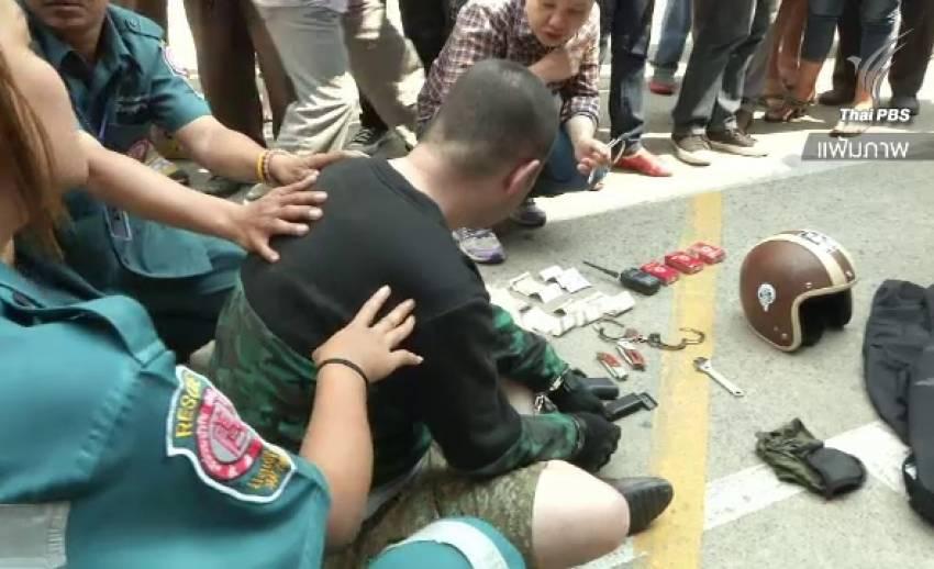 คุก 33 ปี 28 เดือน แก๊งชาวจีนปล้นปืนย่านวังบูรพา