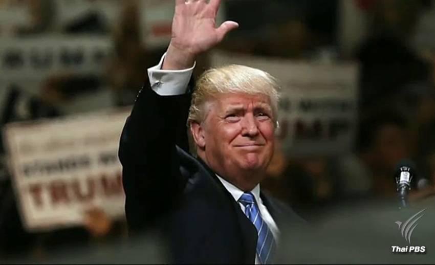 """""""โดนัลด์ ทรัมพ์"""" จากนักธุรกิจ สู่ว่าที่ประธานาธิบดีสหรัฐฯ คนใหม่"""