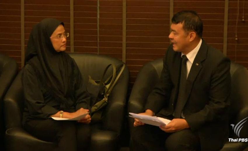 """"""" อังคณา """" ยื่นหนังสือคัดค้าน ดีเอสไอ กรณีงดการสอบสวนคดีนายสมชาย หายตัว 11 ปี"""