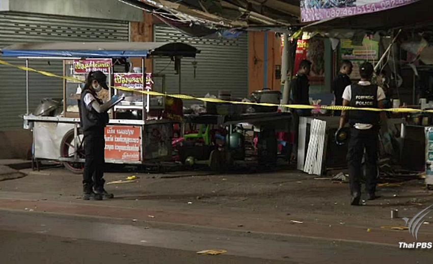เร่งหาตัวผู้ก่อเหตุระเบิดร้านก๋วยเตี๋ยวชื่อดัง ตลาดโต้รุ่งปัตตานี-คุมเข้มวันครบรอบเหตุการณ์ตากใบ