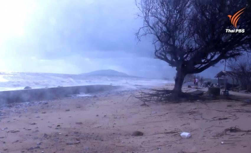 อุตุฯใต้เตือนคลื่นลมแรงมีไปถึง 29 ก.พ. ชายฝั่งระวังน้ำทะเลหนุนเข้าท่วมบ้านเรือน