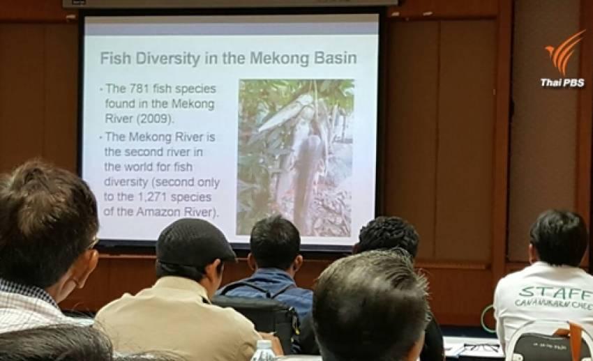จี้รัฐทบทวนโครงการผันน้ำโขง ระบุได้รับผลกระทบมานับสิบปีทั้งระบบนิเวศ-ความหลากหลายพันธุ์ปลา