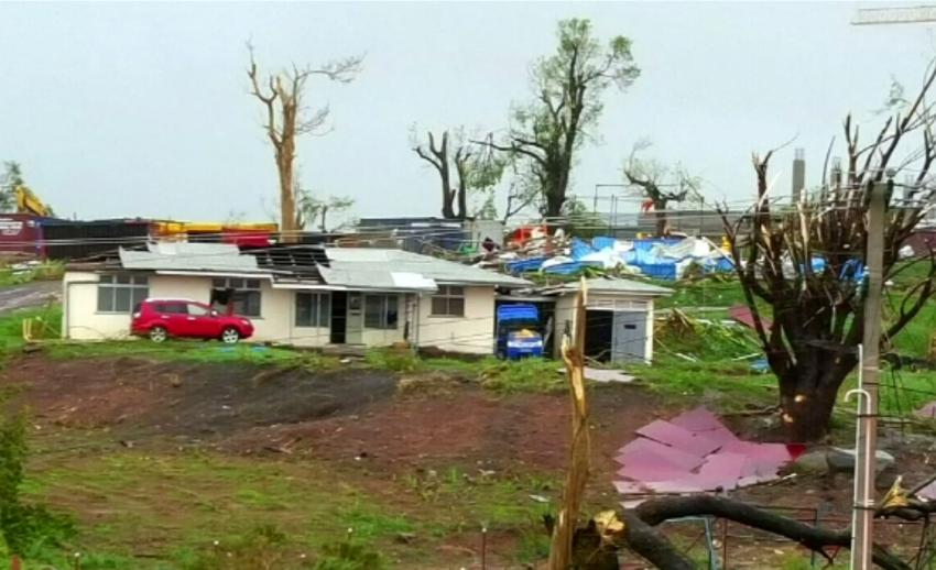 พายุไซโคลนวินสตันพัดถล่มฟิจิเสียหายบริเวณกว้าง เสียชีวิตอย่างน้อย 1 คน