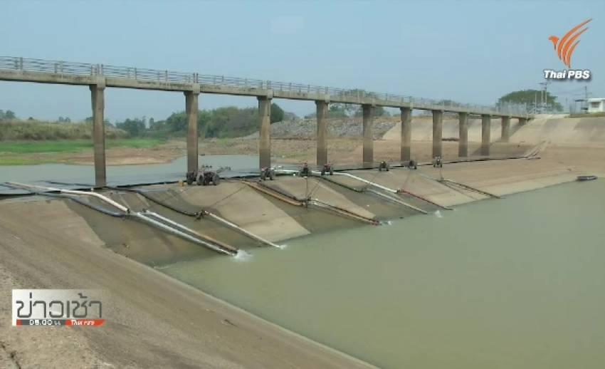ประปาบุรีรัมย์เหลือน้ำ 6 ล้านลบ.ม. บรรพตพิสัยลอกแม่ปิงเปิดทางส่งน้ำผลิตประปา