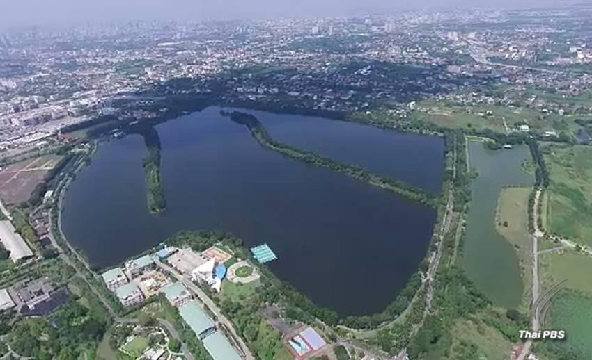 โครงการแก้มลิงบึงหนองบอน แก้ปัญหาน้ำท่วมกรุงเทพฝั่งตะวันออก