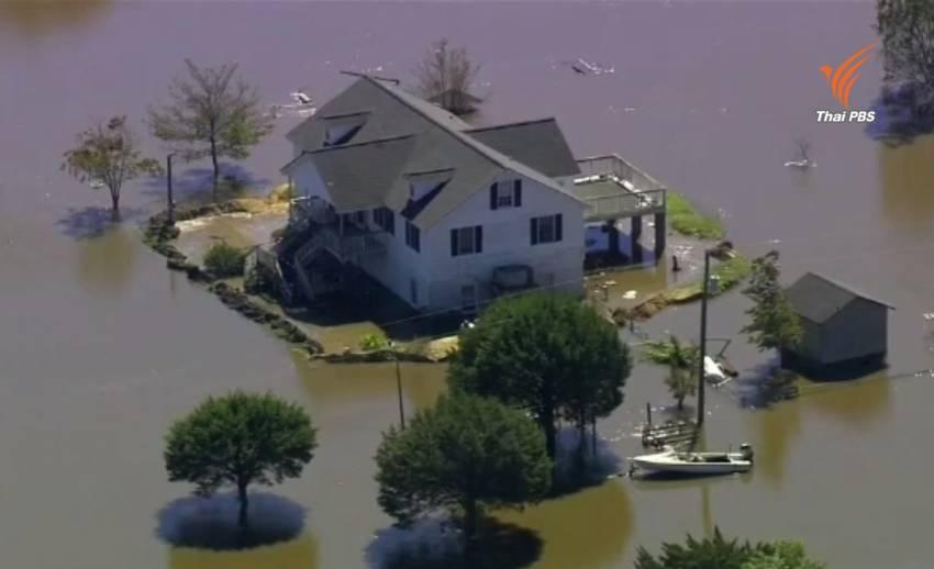 """ตัวเลขผู้เสียชีวิตจากพายุเฮอริเคน """"แมทธิว"""" ล่าสุดอยู่ที่ 21 คน"""