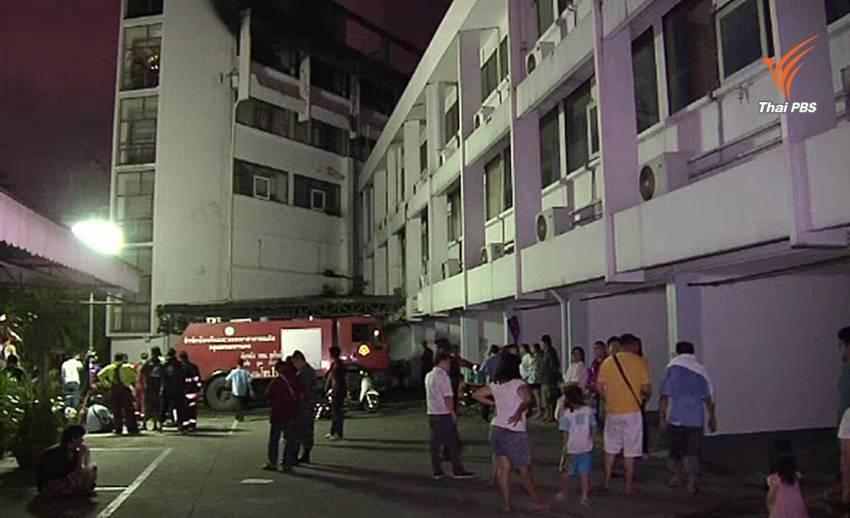 ตรวจสอบโครงสร้าง รร.เทียร่า ย่านดินแดงหลังเกิดเพลิงไหม้
