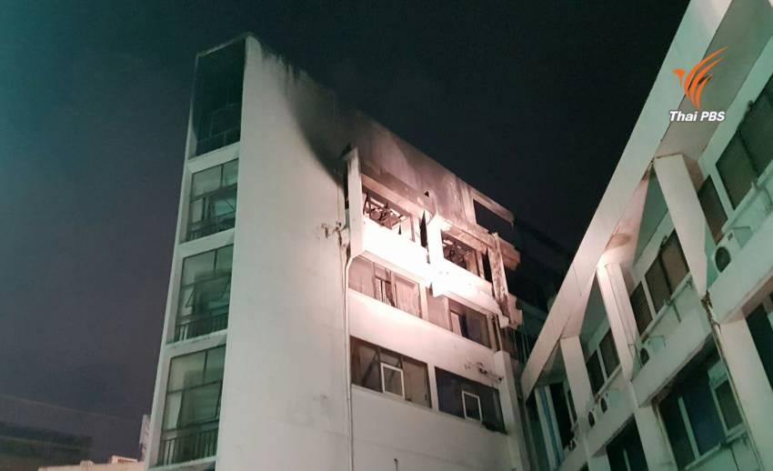 ไฟไหม้โรงแรมมิตรภาพเทียร่าย่านดินแดง คุมเพลิงได้แล้ว ไร้เจ็บ