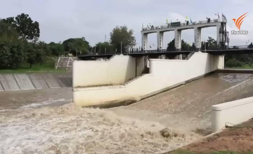 เตือนประชาชนริมแม่น้ำเพชรบุรีเฝ้าระวังน้ำเอ่อล้นตลิ่ง