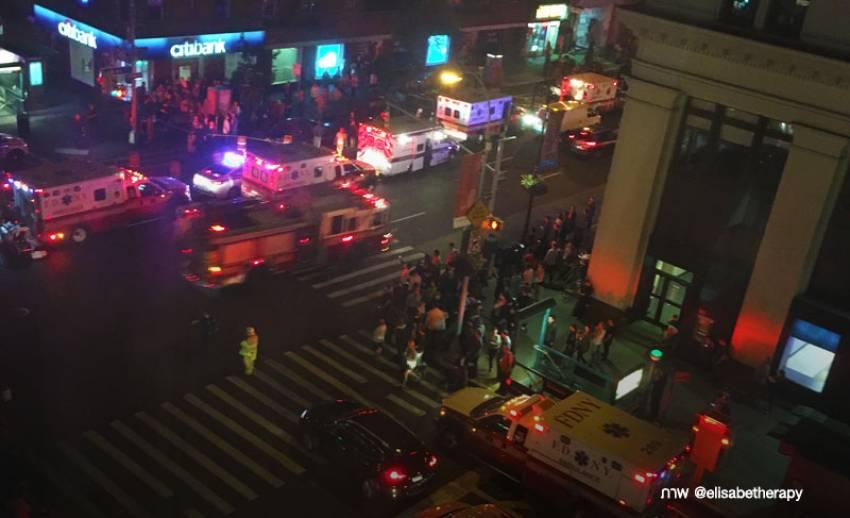เกิดเหตุระเบิดกลางมหานครนิวยอร์ก สหรัฐฯ บาดเจ็บอย่างน้อย 25 คน