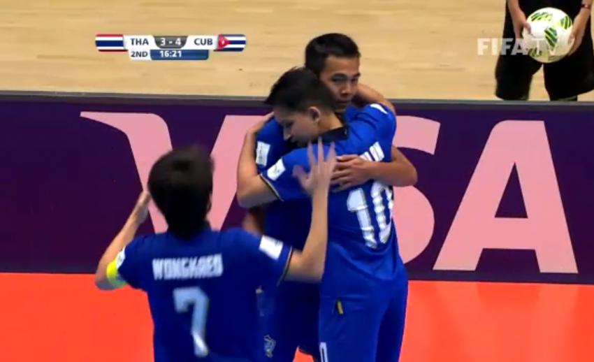 ย้อนดูสถิติไทยในฟุตซอลโลกก่อนพบอาเซอร์ไบจัน รอบ 16 ทีมสุดท้าย