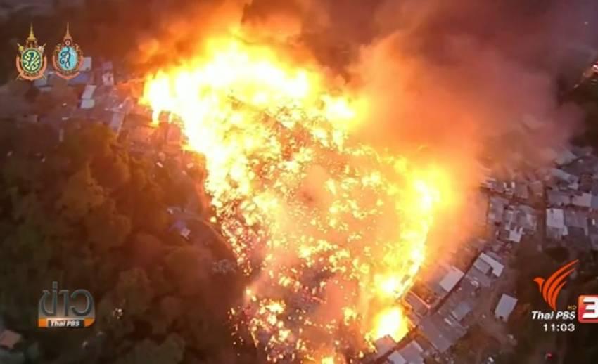 ไฟไหม้ชุมชนแออัดในบราซิล ไร้เจ็บ-ตาย