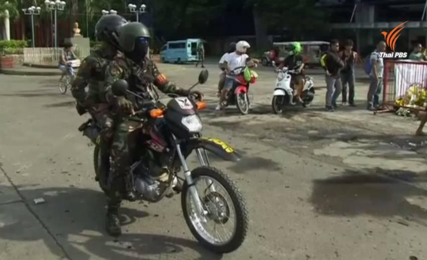 ฟิลิปปินส์คุมเข้มความปลอดภัยในเมืองดาเวา หลังเหตุระเบิดกลางตลาดคร่า 14 ชีวิต