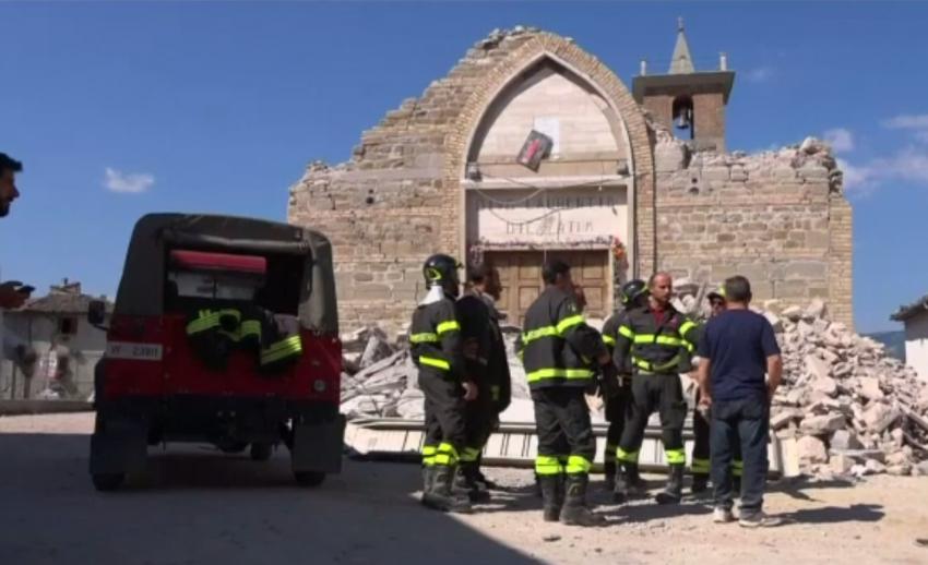 แผ่นดินไหวอิตาลีเสียชีวิตเพิ่มเป็น 291 คน เมียนมาวางแนวทางบูรณะสถูปเจดีย์โบราณ