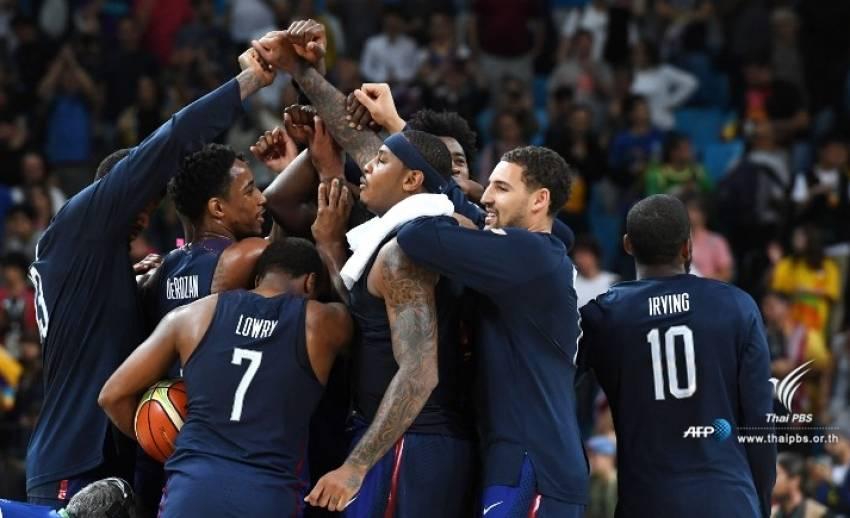 อเมริกาชนะเซอร์เบียคว้าเหรียญทองบาสฯชายปิดท้ายโอลิมปิก