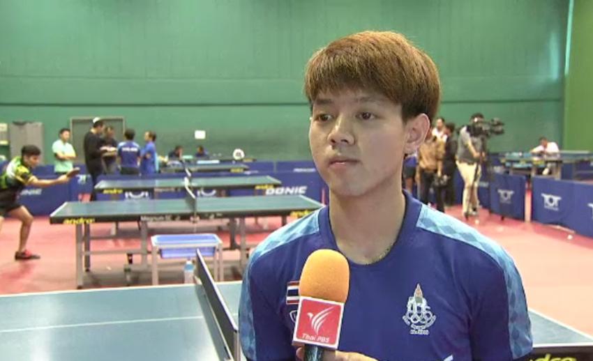 """เส้นทางสู่ริโอเกมส์ : """"ภาดาศักดิ์"""" นักปิงปองชายไทยคนแรกในโอลิมปิกเกมส์"""