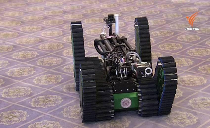 นายกฯ สั่งต่อยอดหุ่นกู้ภัยหลังซิวแชมป์ 8 สมัยซ้อน