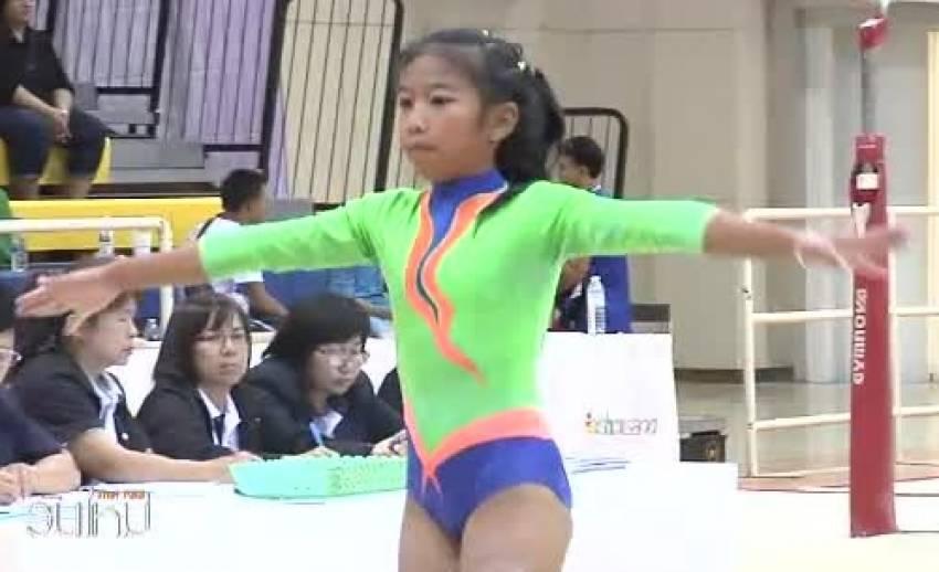 ยิมนาสติกเยาวชน ชิงแชมป์ประเทศไทย