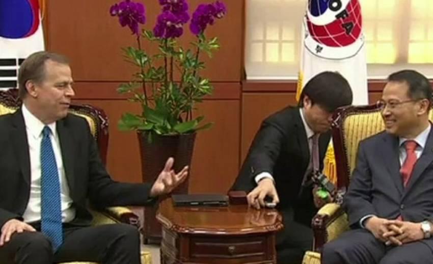 """ทูตพิเศษสหรัฐฯเยือน """"เกาหลีใต้"""" หวังรื้อฟื้นเจรจา 6 ฝ่ายปลดอาวุธนิวเคลียร์ """"เกาหลีเหนือ"""""""