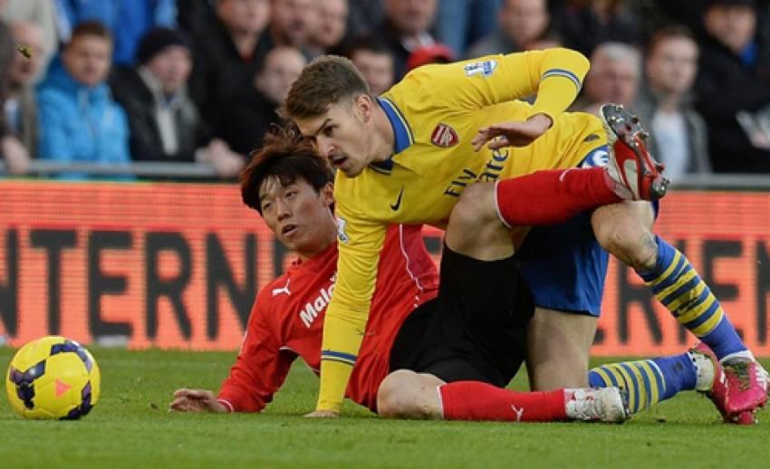 อาร์เซนอล บุกชนะ คาร์ดิฟฟ์ ซิตี้ 3-0 ศึกฟุตบอลพรีเมียร์ลีก