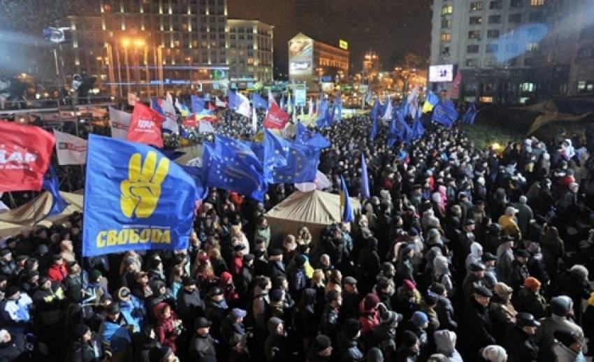 เหตุประท้วงต้านรัฐบาลยูเครน ทวีความตึงเครียด