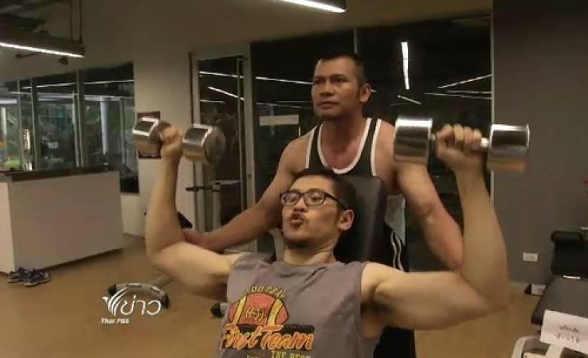 """เปิด""""เคล็ดลับ-แรงบันดาลใจ"""" ของหนุ่มไทยพีบีเอส ลดน้ำหนักจาก 142 กก.เหลือ 86 กก."""