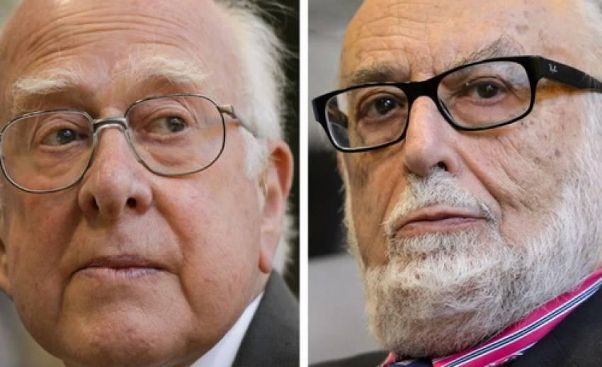 """2 นักวิทย์ผู้ค้นพบ """"อนุภาคฮิกส์"""" ได้รับรางวัลโนเบล สาขาฟิสิกซ์"""