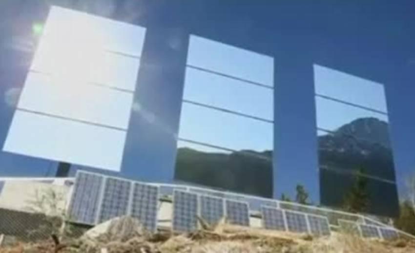 ชาวนอร์เวย์ใช้กระจกให้แสงสว่างในเมืองที่อยู่ก้นหุบเขา