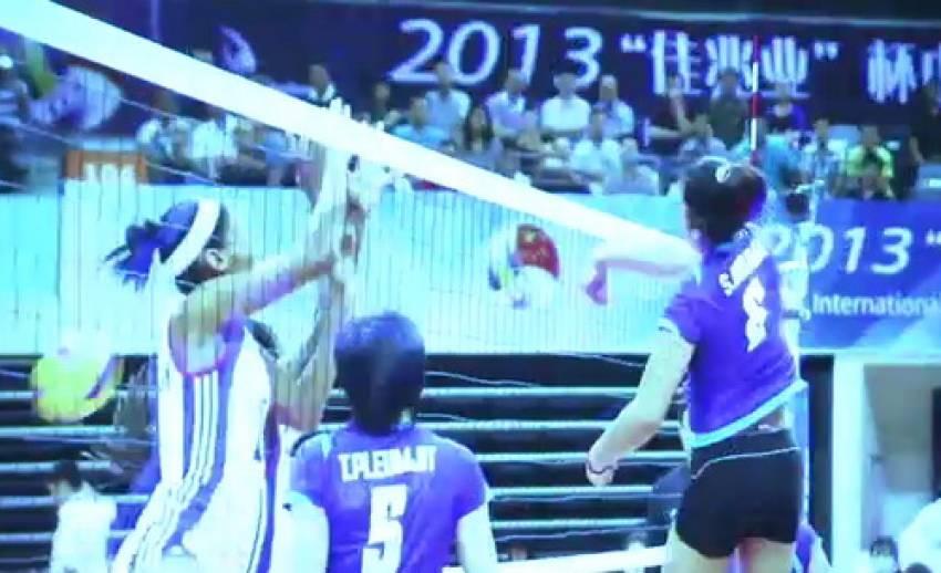 """ทีมวอลเลย์บอลสาวไทย สถิติเป็นรอง """"โดมินิกัน"""""""