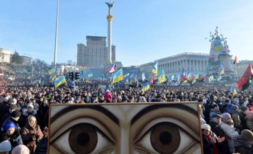 """ผู้ประท้วง """"ยูเครน"""" กลับมาชุมนุมอีกครั้ง ปักหลักขับไล่ประธานาธิบดี"""