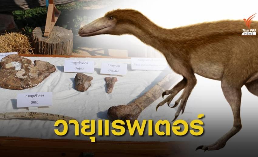 ไดโนเสาร์กินเนื้อชนิดใหม่ของโลก ตัวที่ 11 ของไทย