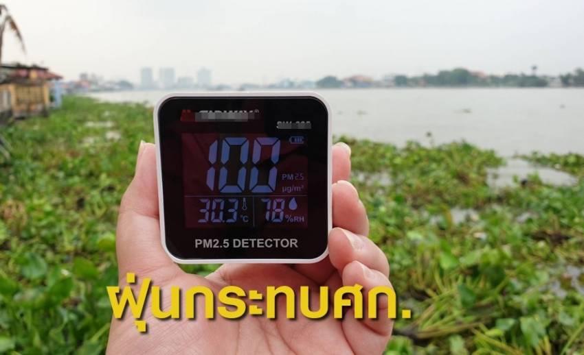 """""""ศูนย์วิจัยกสิกรไทย"""" ประเมินปัญหาฝุ่นละออง กระทบเศรษฐกิจ 700 - 800 ล้าน"""