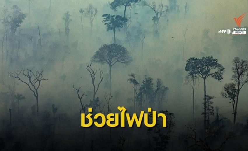 """""""ลีโอนาร์โด"""" บริจาคเงินกว่า 153 ล้านบาท ช่วยไฟป่าแอมะซอน"""