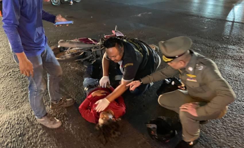 ฮีโร่ตัวจริง ! พล.ต.อ.เฉลิมเกียรติ หยุดรถช่วยคนเจ็บกลางถนน
