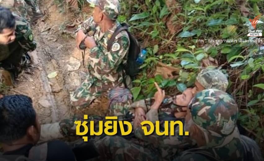ซุ่มยิงเจ้าหน้าที่พิทักษ์ป่า อช.บูโด-สุไหงปาดี เจ็บสาหัส