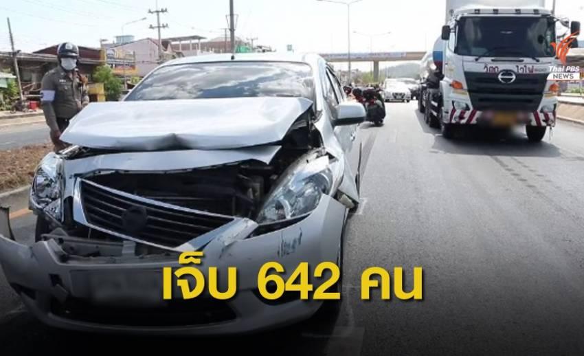 """""""7 วันอันตราย"""" วันที่ 3 อุบัติเหตุ 652 ครั้ง เสียชีวิต 67 คน"""
