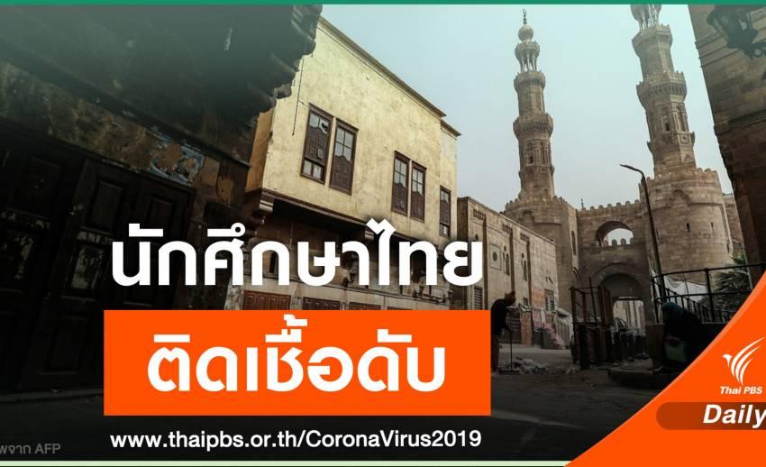 นักศึกษาไทยวัย 26 ปีติดเชื้อ COVID-19 เสียชีวิตในอียิปต์